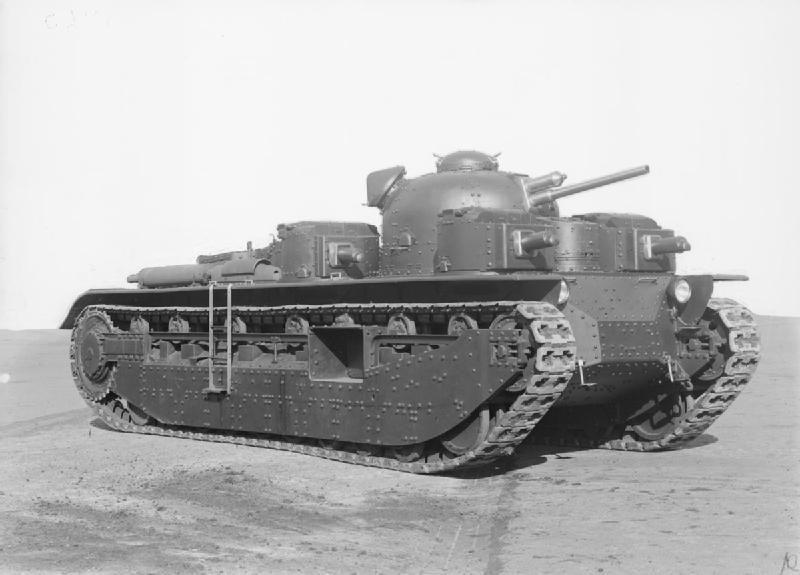 Los diseños multitorreta se pusieron de moda, y no solo Alemania probó suerte. ¿Como se llamaba este blindado británico?