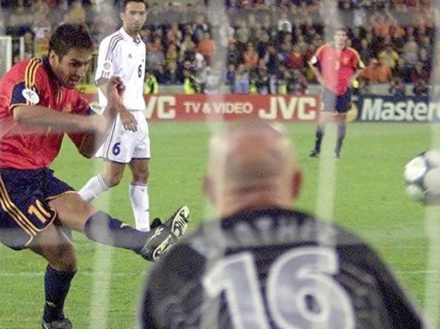¿Quién le marcó el gol a Yugoslavia en la eurocopa del 2000?