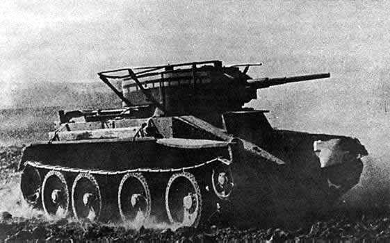 La serie BT era una serie de tanques ligeros soviéticos. ¿Cual era su particularidad?