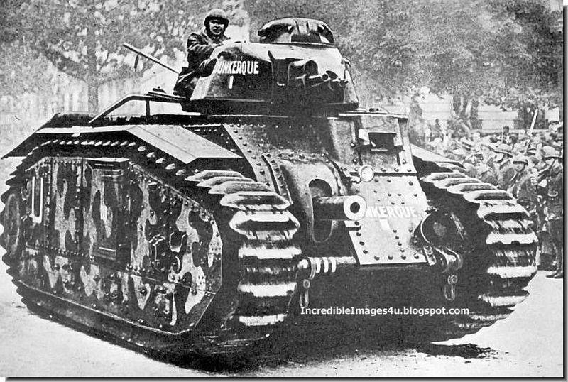 El Char B1 era un tanque pesado francés, sin embargo rompía con los estándares nacionales. ¿Por que?
