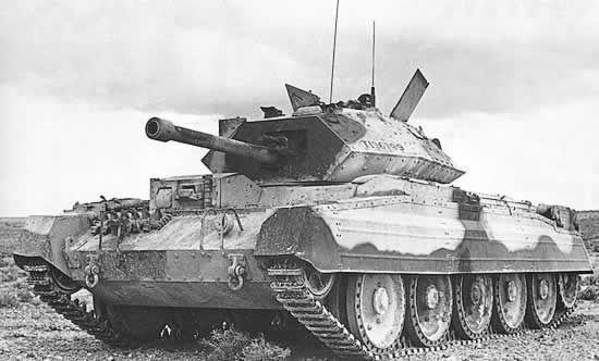 Entramos en la segunda guerra mundial. El tanque inglés Crusader, ¿como estaba clasificado?