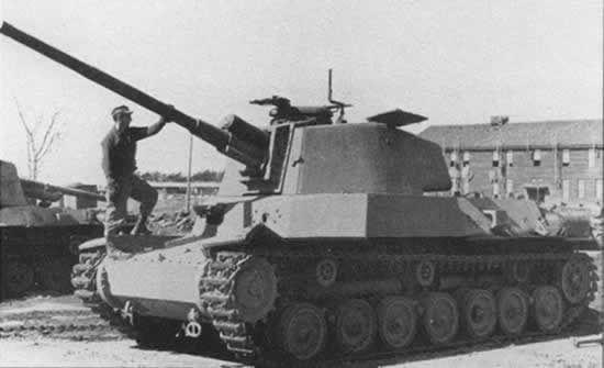 El Tipo 5 Chi-Ri fue un prototipo de tanque mediano japonés que no fue completado. ¿Cuantos se construyeron?