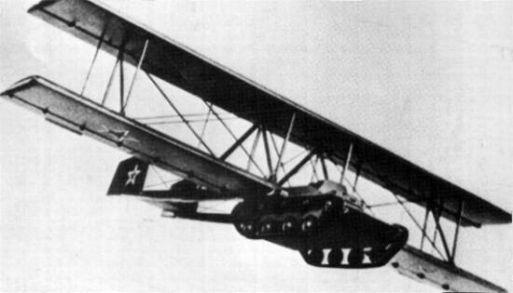 Un T-60 sovietico fue modificado por la compañía Antonov. ¿Cual era su propósito?