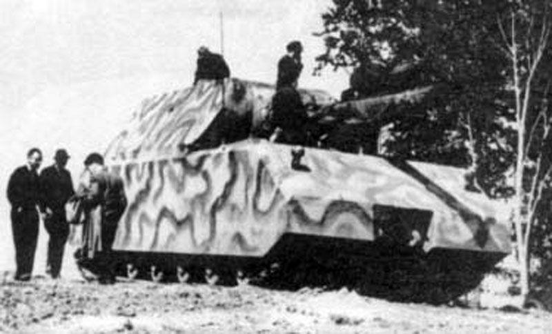 Los alemanes construyeron el Panzer VIII