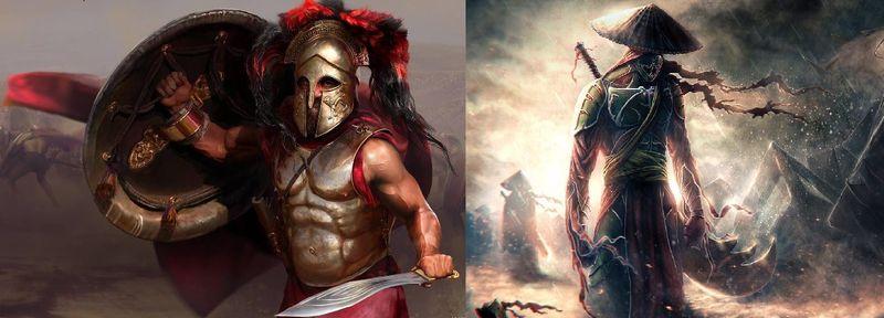 ¿ Espartano vs Ninja ?