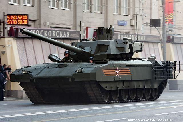 El T-14 Armata ruso es parte de la nueva generación de tanques. ¿A que generación pertenece?