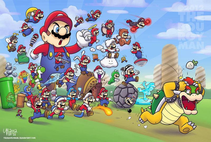 23523 - ¿Reconoces estos poderes de Mario?