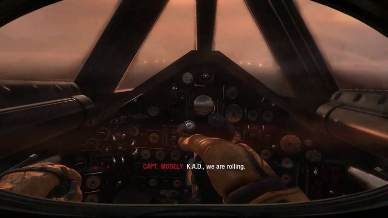 ¿Desde que aeronave damos órdenes a Hudson y Weaver en la misión ADM?
