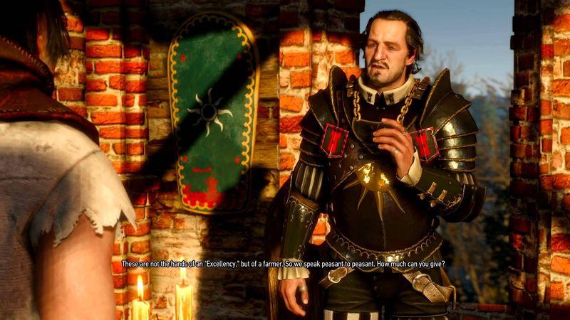 Se nos encomienda acabar con la vida de un malvado oficial nilfgaardiano. Está escoltado siempre por dos guardias. ¿Qué harías?