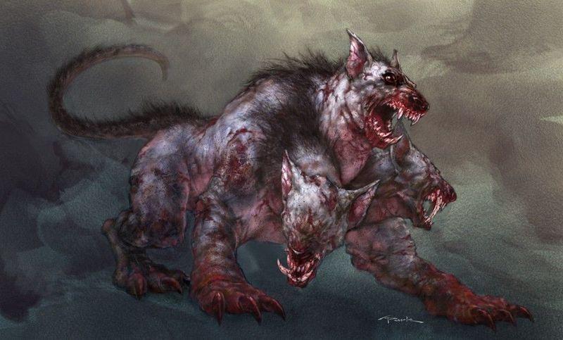 Una bestia del infierno salvaje aparece. Atácale con el objeto de la anterior pregunta: