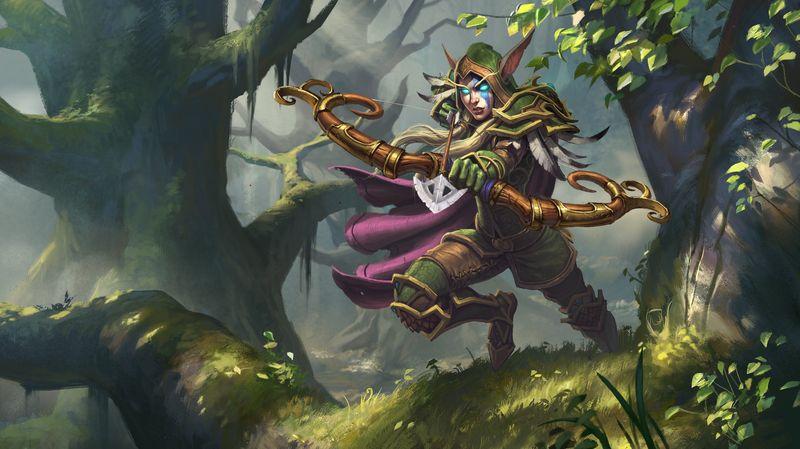 Cuando Arthas invade Quel Talas, ¿Qué es lo que hace con Sylvanas Windrunner tras derrotarla?
