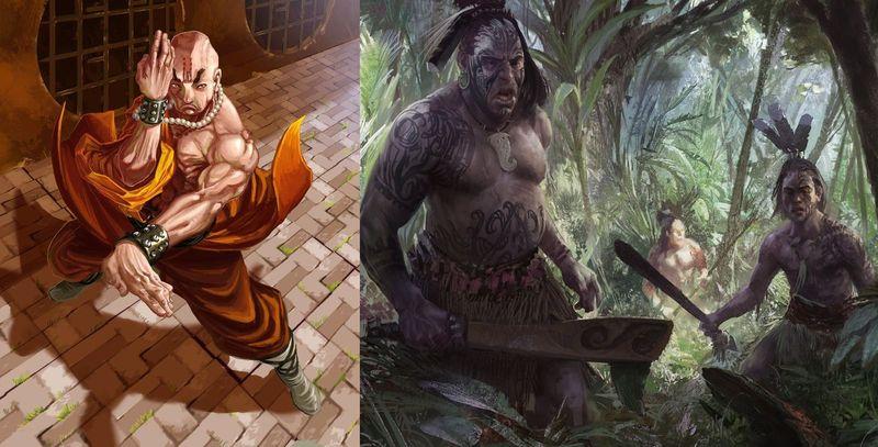 ¿ Monje Shaolin vs Guerrero Maorí ?