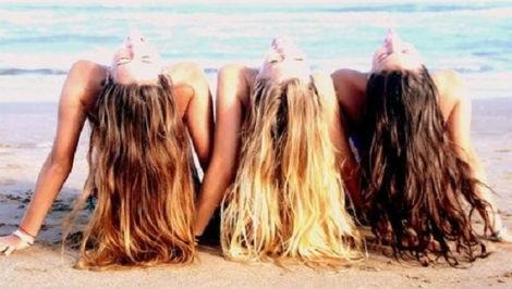 Las personas rubias tienen más pelo que las de pelo oscuro