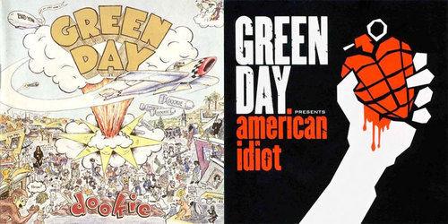 Elige entre posiblemente los dos álbumes más exitosos de Green Day