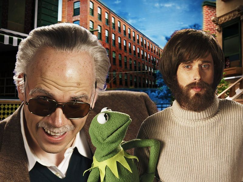 https://www.youtube.com/watch?v=PXBJIZ1NXFU          [Stan Lee VS jim Henson]
