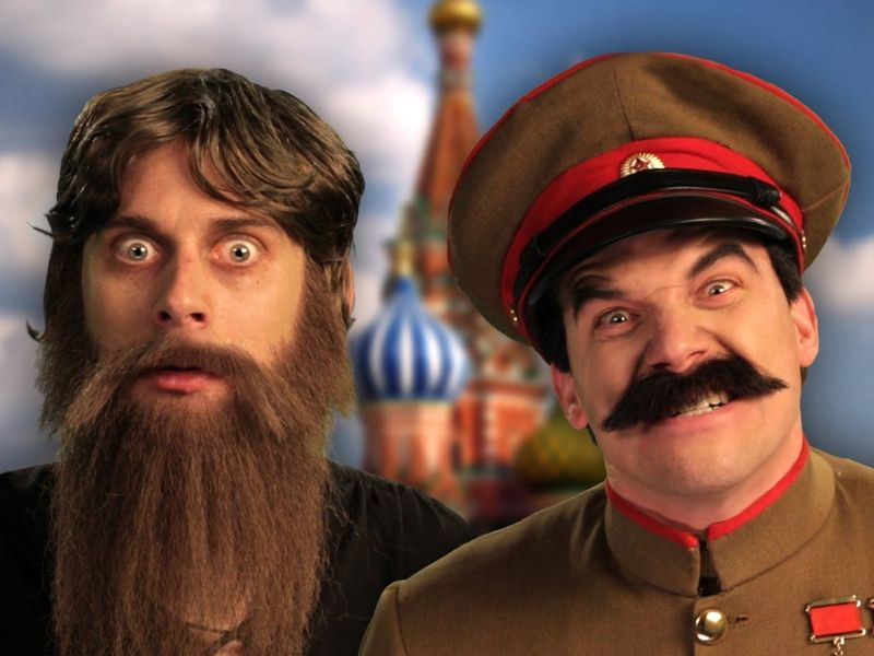 https://www.youtube.com/watch?v=ZT2z0nrsQ8o                 [Rasputin VS Stalin]