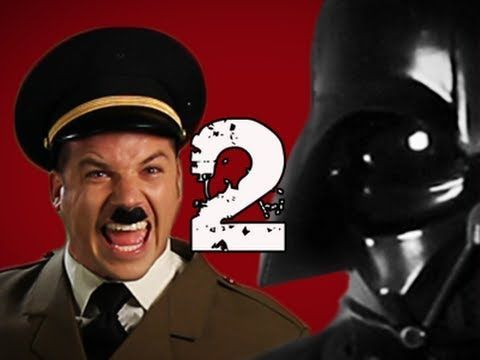 https://www.youtube.com/watch?v=CeLrlmV9A-s                                 [Hitler VS Darth Vader]