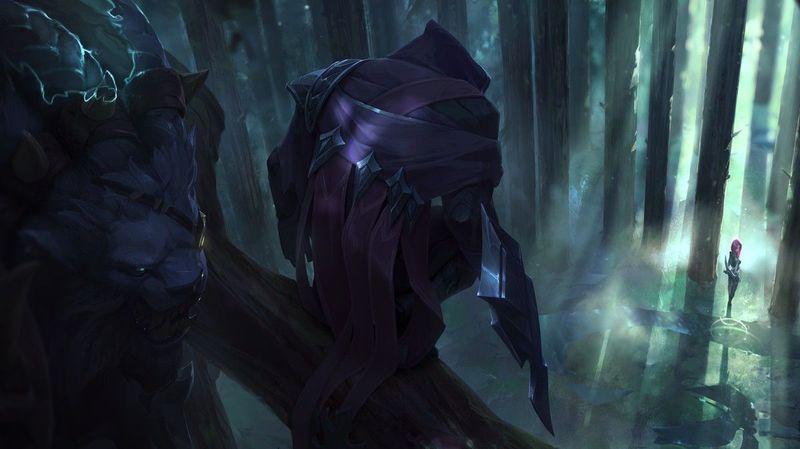 23646 - ¿Podrás adivinar al campeón de League of Legends solo viendo una parte de su Splash Art?