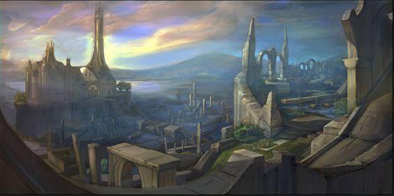 El águila te lleva al Oeste , a la ciudad de Annúminas junto al Lago Evendim ¿ Que gentes vivió alli ?