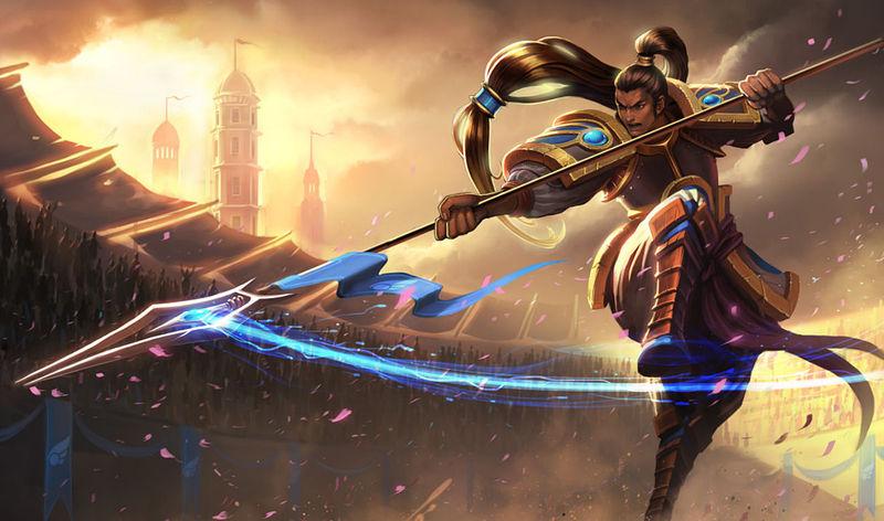 La primera es facilita. ¿Cómo se conocía a Xin Zhao cuando era gladiador?