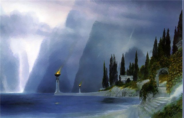 Los Lossoth te llevan en barco hacia el sur bordeando las montañas azules y llegando al Golfo de Lhun ¿ Que encontraremos ?