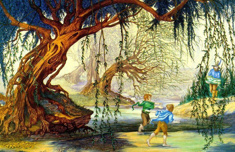 Sales de Hobbiton y te adentras en el Bosque Viejo , allí te encuentras con Tom Bombadil y su mujer ¿ Como se llama ?