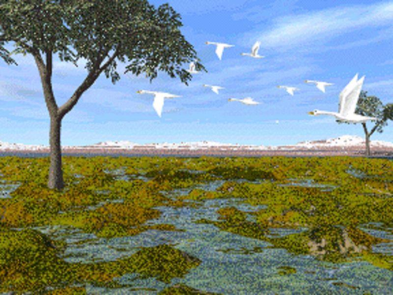 Pones rumbo al este (dirección Moria) pero antes pasas por las lagunas de Nîn-in-Eilph¿ Que nombre recibían dichas lagunas?