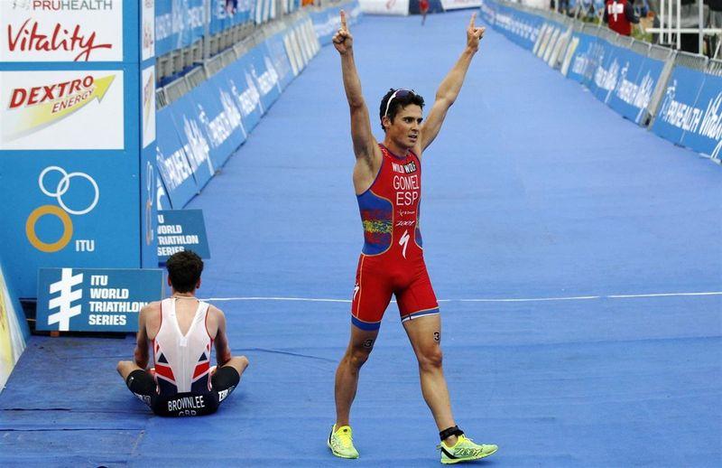 ¿Cuántos campeonatos del mundo tiene el triatleta gallego?