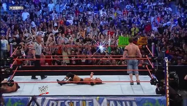 WrestleMania XXIV: Randy Orton vs Triple H vs John Cena