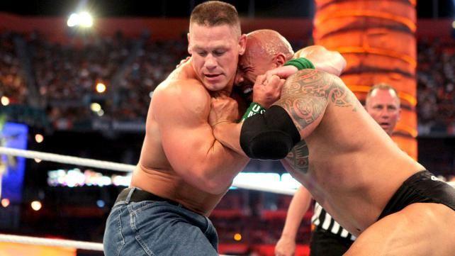 WrestleMania XVIII: John Cena vs The Rock