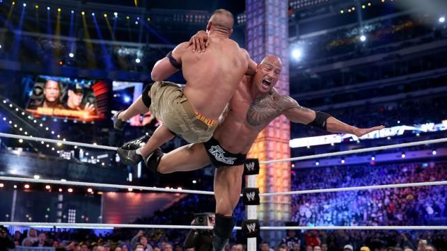 WrestleMania 29: John Cena vs The Rock