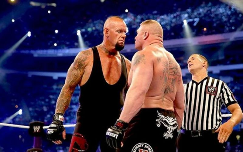 WrestleMania XXX: Undertaker vs Brock Lesnar