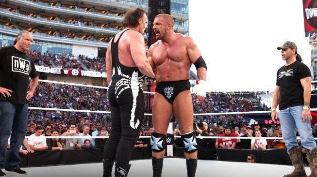 WrestleMania 31: Triple H vs Sting