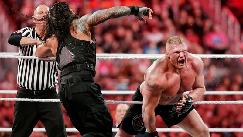 WrestleMania 31: Brock Lesnar vs Roman Reigns
