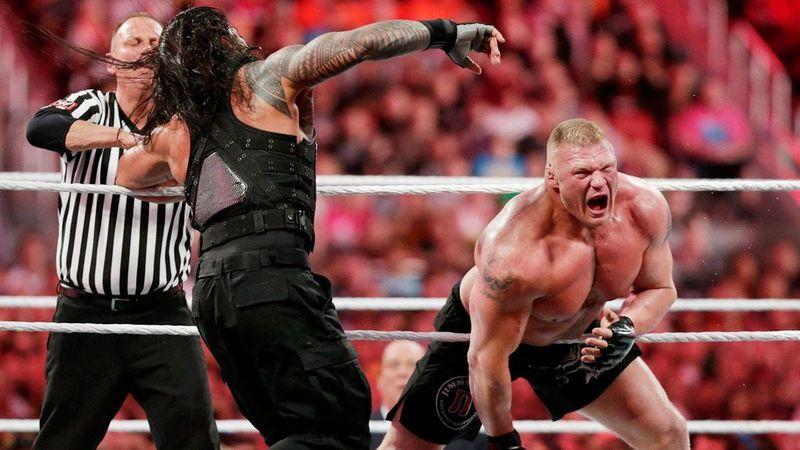 WrestleMania 31: Brock Lesnar vs Roman Reigns