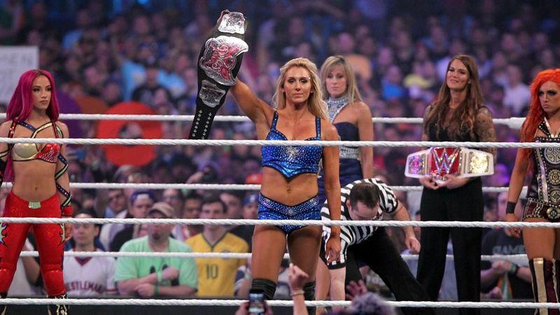 WrestleMania 32: Charlotte vs Sasha Banks vs Becky Lynch