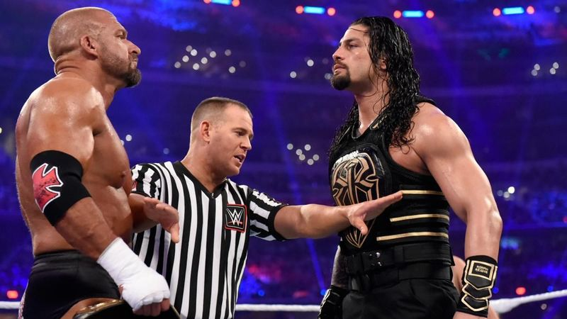 WrestleMania 32: Triple H vs Roman Reigns