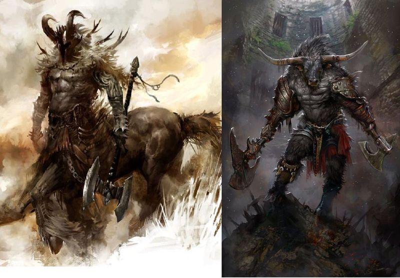 Centauro vs Minotauro