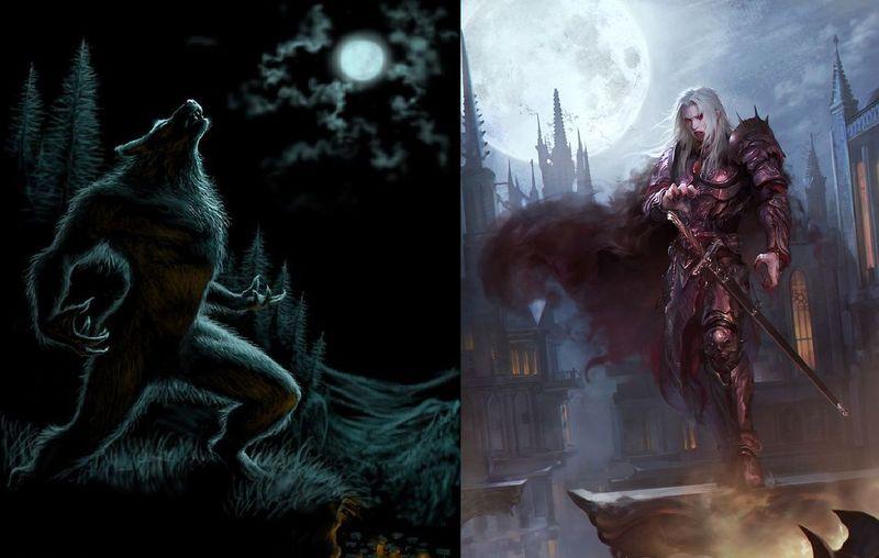 Licantropo vs Vampiro
