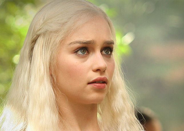 Daenerys Targaryen en la serie