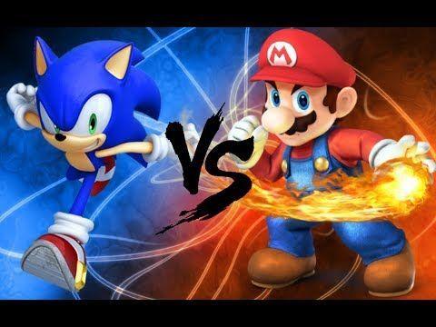 ¿Mario o Sonic?