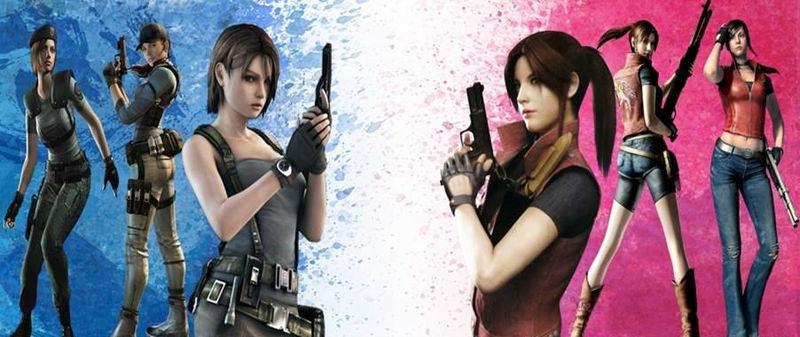 ¿Jill Valentine o Claire Redfield?