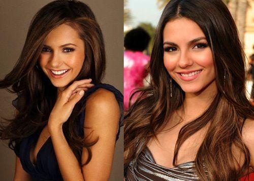 ¿Nina Dobrev o Victoria Justice?