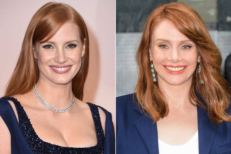 ¿Jessica Chastain o Bryce Dallas?