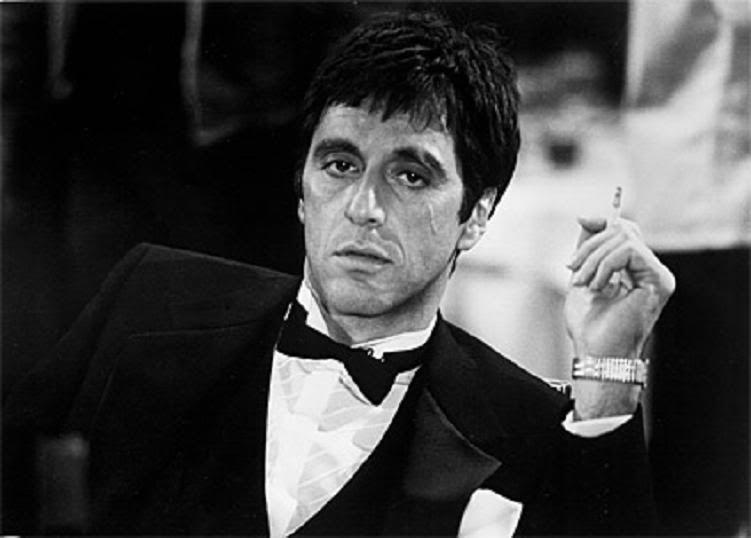 ¿Cuál es el nombre de la película que interpreta Al Pacino como el personaje Tony Montana?