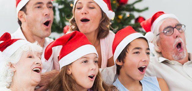 ¿Te gustan las canciones navideñas?