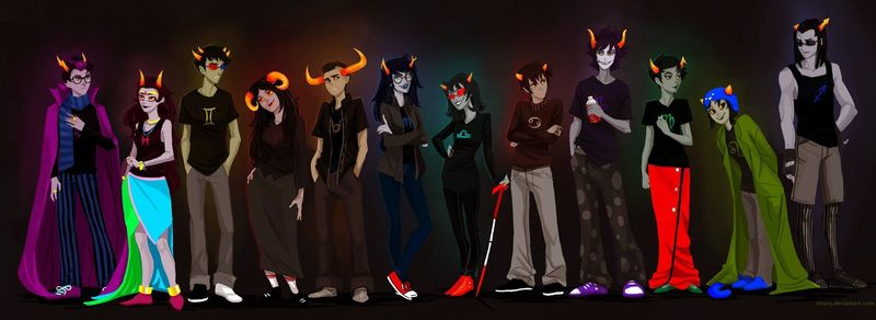 24147 - ¿Podrías reconocer a los siguientes personajes de Homestuck?