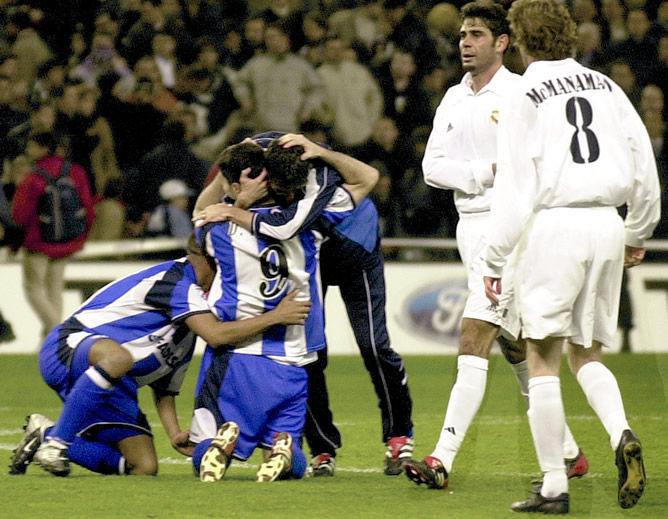 Copa del Rey 2001/2002: Real Madrid - Deportivo de la Coruña