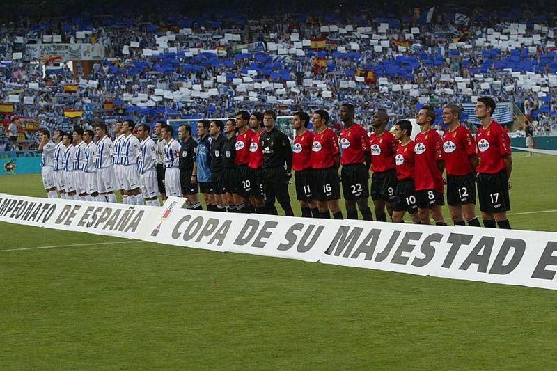 Copa del Rey 2002/2003: Recreativo de Huelva - RCD Mallorca