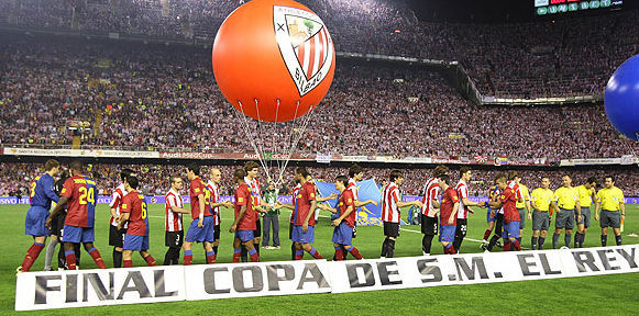 Copa del Rey 2008/2009: Athletic Club de Bilbao - FC Barcelona